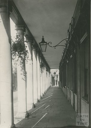 Bath Street, north side of Colonnade, c.1920s