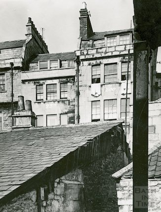 Back of Walcot Street, c.1930s