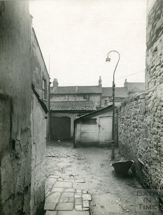 Avon Street (passage and yard behind), c.1930