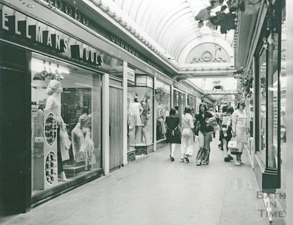 The Corridor viewed from the direction of the High Street, August 1973