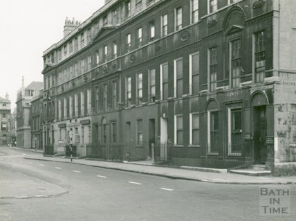 Northumberland Buildings, Wood Street, Bath c.1950s?