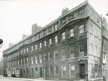 Northumberland Buildings, Wood Street, Bath (South Side), c.1930