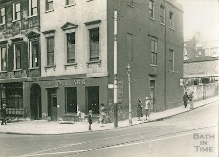 Prince's Buildings, George Street (corner of Lansdown Road), c.1930