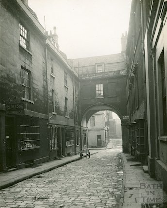 View of Queen Street from Wood Street, c.1927