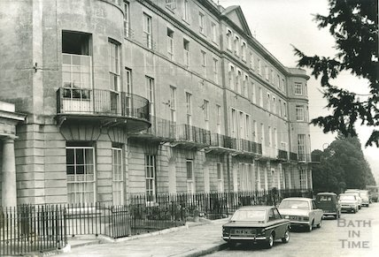 Sion Hill Place, Bath, 1969