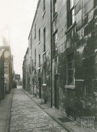 Waterloo Buildings, Widcombe (Exterior view, rear), c.1950s