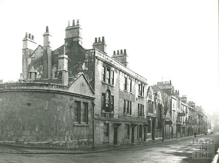 Milk Street (east side) from James Street West, c.1930s