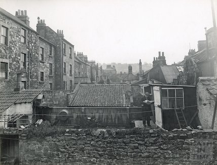 Backs of Milk Street and Avon Street, c.1930s