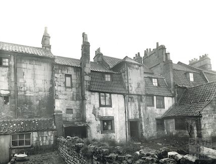 Back of Milk Street, c.1930s