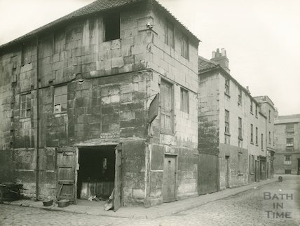The corner of Little Corn Street and Back Street, c.1930s