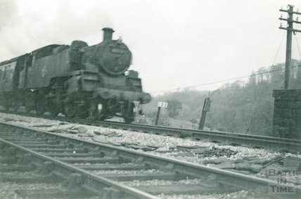 Class B.R. NO.82XXX at Newbridge , c.1960s