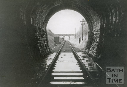 The exit of the Devonshire Tunnel, looking north, c.1960s