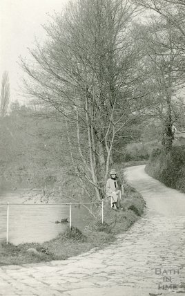 Beside the river at Freshford c.1920s