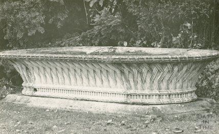 Unidentified  stone garden feature, c.1920s