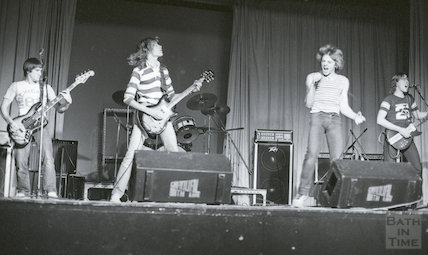 Marshall Howe featuring Mike Palmer at the Pavilion, 24 January 1982