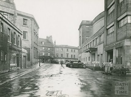 Corn Street looking towards St. James Parade, c.1930s