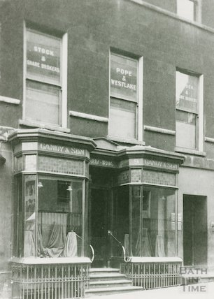 George Street, shop front at No. 9, c.1930s