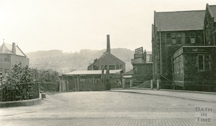 Manvers Baptist Church, north side from Manvers Street, c.1930