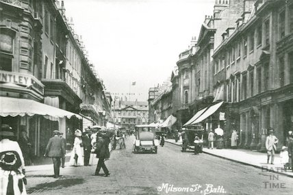 Milsom Street looking up, 1914