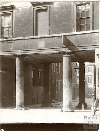 St. James's portico, Pierrepont Street, Bath c.1903