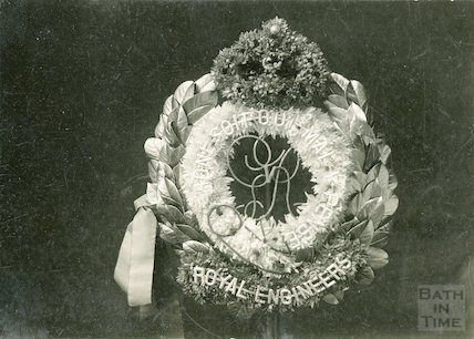 Display by Trimby's Flower Shop. 29 Charles Street, 11 Nov 1920