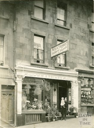 Trimby's Flower Shop. 29 Charles Street, 1920s