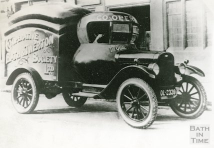 The Twerton Co-op delivery van, c.1920s