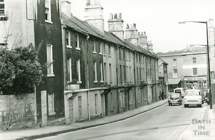 Ralph Allen's Row, Prior Park Road, Bath, 6 May 1974