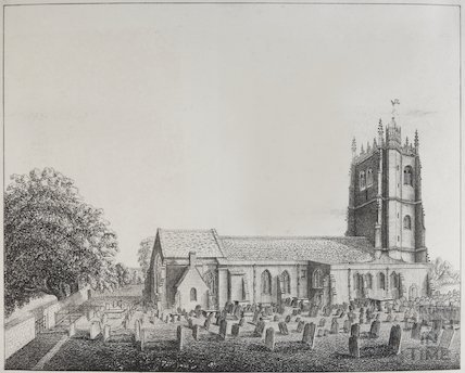 St Mary's Bitton, 1823