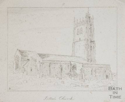 St Mary Church Bitton from N.E. 1792