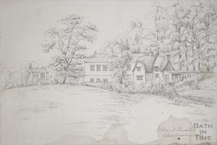 Oldland Church and School Room, 1839