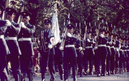 RAF Parade, Royal Victoria Park, Bath, c.1970s