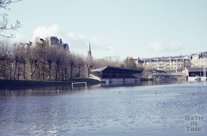 The flooded Recreation Ground, c.1963
