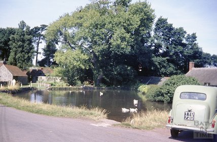 The duck pond, East Quantox Head, c.1959