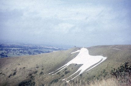 The White Horse at Westbury, c.1960s