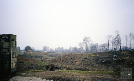 Cleared land near Rainbow Woods, Bath, c.1987