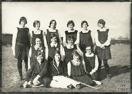 City of Bath Girls School Staff Hockey Team, c.1920s?