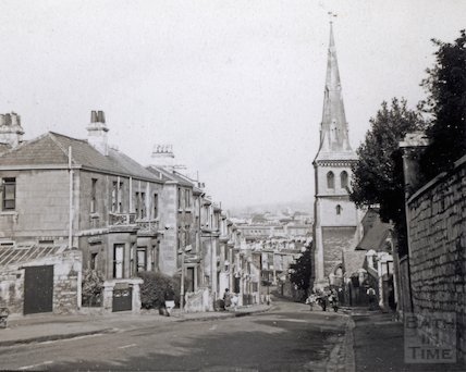 View down Widcombe Hill, c.1920s