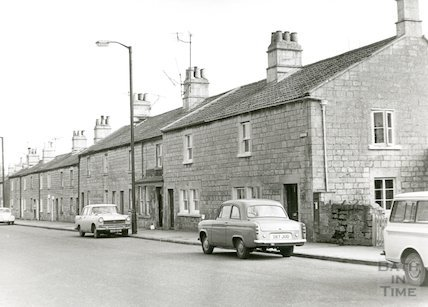 Upper Wellsway, March 1970.