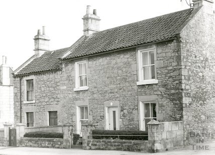 Odd Down Place, Upper Wellsway, March 1970