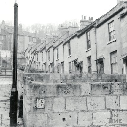 Moorfields Place, Hedgemead July 1964.