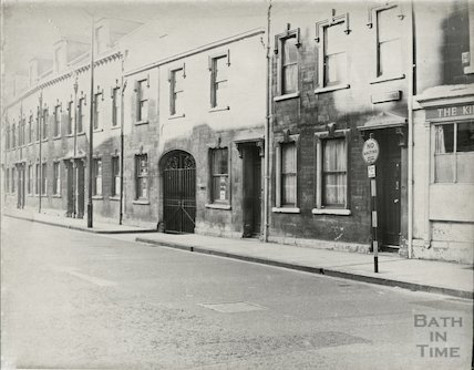 Anglo Terrace, Walcot Street, October 1965.