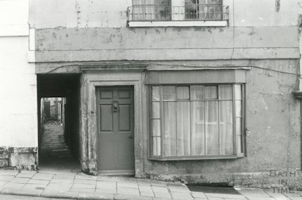 29 Morford Street & alleyway to St. Davis's Place, c.1960s
