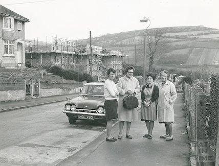 Hillview Road, Larkhall, January 1969