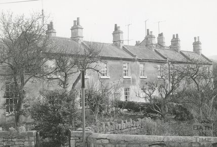 Millbrook Buildings looking south, Lower Swainswick, Bath, c.1971