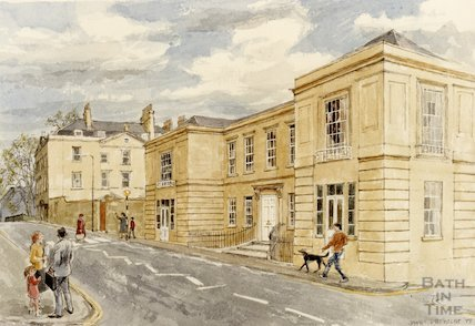 Artist's impression of proposed Queen Square House, 1988