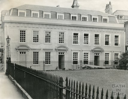 Beauford Square, restored eastern side, Bath, c.1960s