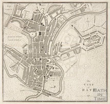 The City of Bath c.1815