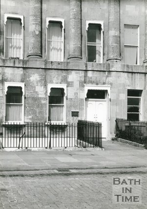 No. 11 Royal Crescent, Home of the Linley's, c.1960s