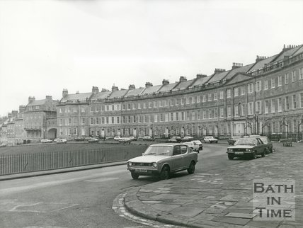 Lansdown Crescent, Bath, 1987